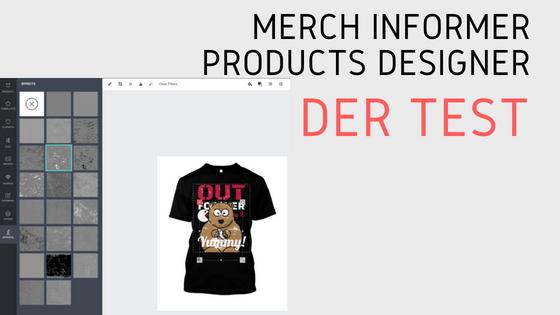Merch Informer Products Designer – Der Test (Update 24.07.18)