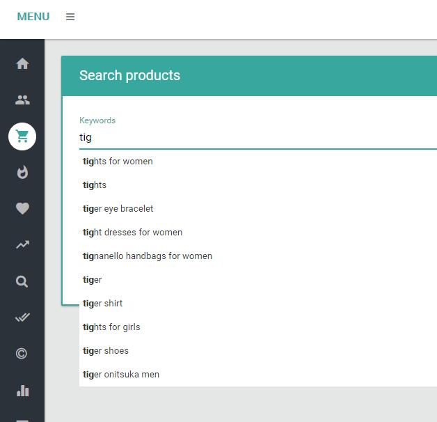 Merch Informer Update: Predictive Search