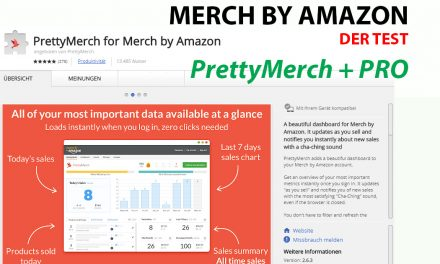 Merch by Amazon Tool: PrettyMerch – Der Check